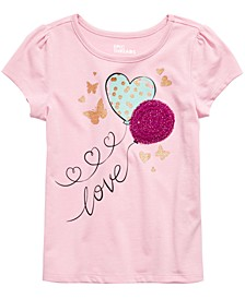 Little Girls Butterfly Balloons T-Shirt, Created For Macy's