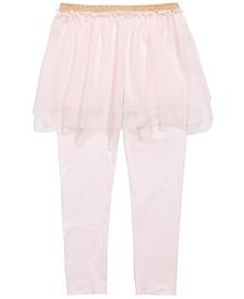 Little Girls Tutu Leggings, Created For Macy's