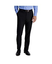 Stretch Solid Skinny Fit Flat Front Suit Separate Pant