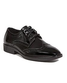 Little and Big Boys Taro Jr. Stylish Lightweight Dress Comfort Classic Wingtip Oxford Shoes
