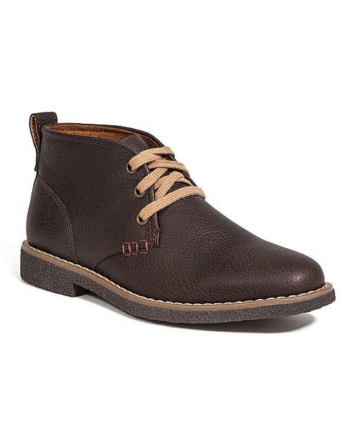 DEER STAGS Little and Big Boys Freeport Jr. Dress Comfort Chukka Boot