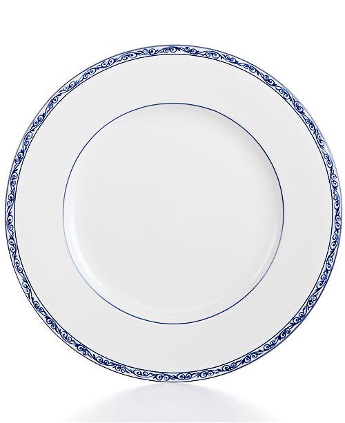 Mandarin Blue Dinner Plate