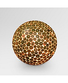 Bengal Teak Ball Floor Lamp - Large