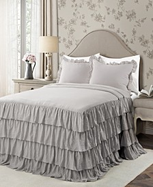 Allison Ruffle 3-Piece King Bedspread Set