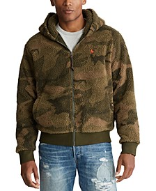 Men's Camo Fleece Full-Zip Hoodie