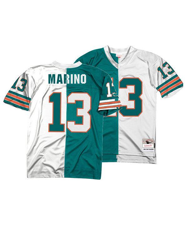 Mitchell & Ness Men's Dan Marino Miami Dolphins Home & Away Split Legacy Jersey