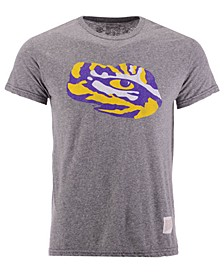 Men's LSU Tigers Retro Logo Tri-Blend T-Shirt