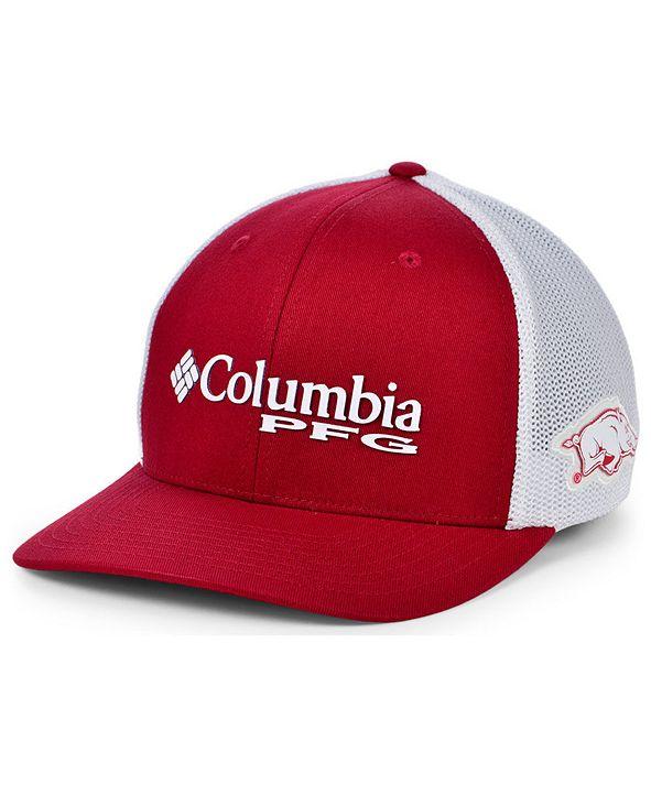 Columbia Arkansas Razorbacks PFG Stretch Cap