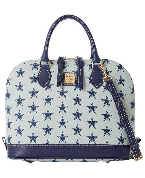 Dooney & Bourke Dallas Cowboys Saffiano Zip Satchel