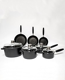 EuroCAST Deluxe 11-Pc. Cast Alum Non-Stick Cookware Set
