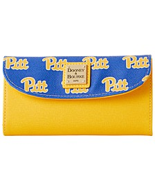 Pittsburgh Panthers Saffiano Continental Clutch