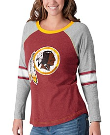 Women's Washington Redskins Long Sleeve Top Pick T-Shirt