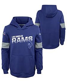 Big Boys Los Angeles Rams Therma Hoodie