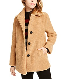Faux-Fur Teddy Coat, Created For Macy's