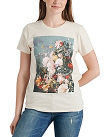 Floral-Graphic T-Shirt