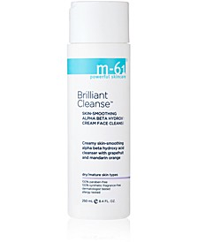 Brilliant Cleanse - Skin-Smoothing Alpha Beta Hydroxy Cream Face Cleanser, 8.4 oz