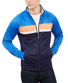 Men's Chevron Track Jacket, Created For Macy's
