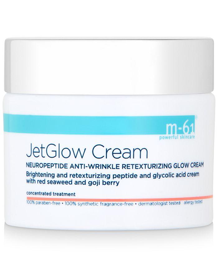 m-61 by Bluemercury - JetGlow Cream Neuropeptide Anti-Wrinkle Retexturizing Glow Cream, 1.7 oz