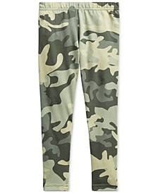 Toddler Girls Camo Stretch Cotton Jersey Legging