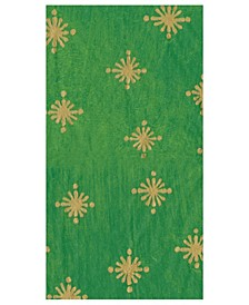CLOSEOUT! Starry Green Paper Guest Towel