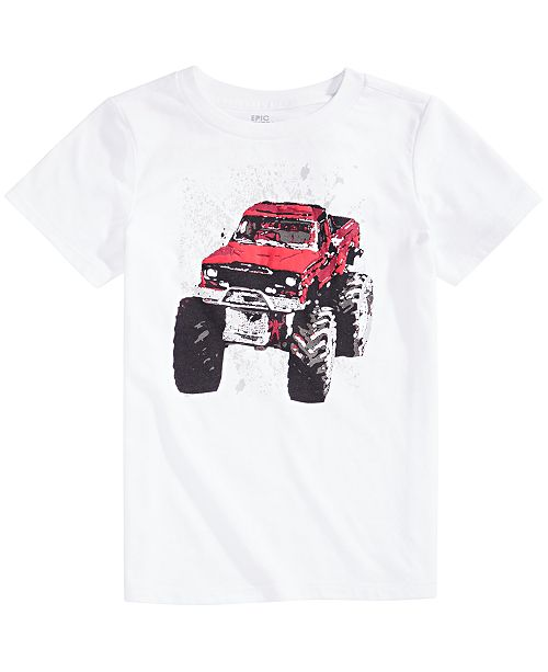 Epic Threads Toddler Boys Monster Truck T-Shirt, Created For Macy's