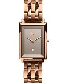 Women's Blair Rose Gold-Tone Stainless Steel Bracelet Watch 24mm