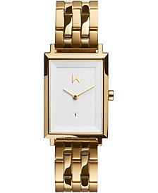 Women's Charlie Gold-Tone Stainless Steel Bracelet Watch 24mm
