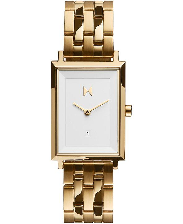 MVMT Women's Charlie Gold-Tone Stainless Steel Bracelet Watch 24mm
