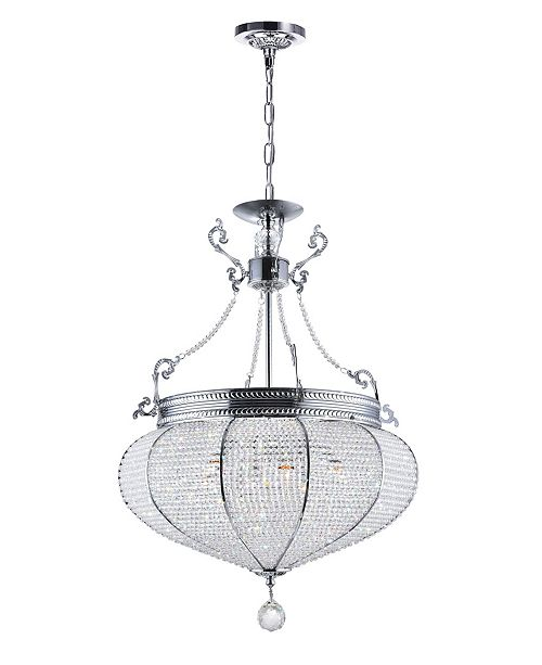 CWI Lighting CLOSEOUT! Lily 6 Light Chandelier