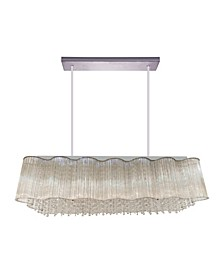 CLOSEOUT! Spring Morning 10 Light Chandelier