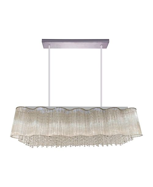 CWI Lighting CLOSEOUT! Spring Morning 10 Light Chandelier