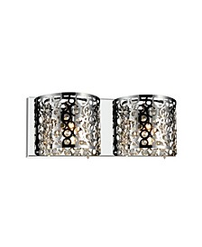 Bubbles 2 Light Wall Sconce