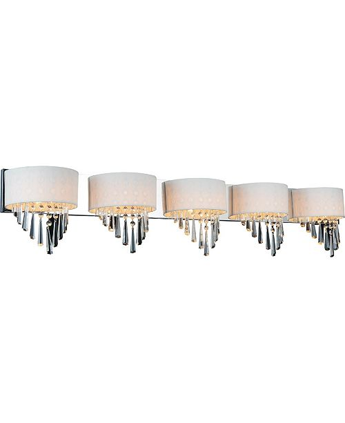 CWI Lighting CLOSEOUT! Burney 5 Light Wall Sconce