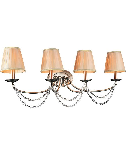 CWI Lighting CLOSEOUT! Paulie 4 Light Wall Sconce