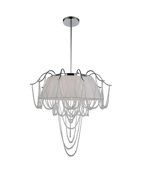 CWI Lighting CLOSEOUT! Draped 5 Light Chandelier