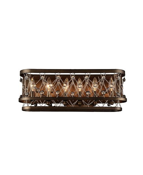 CWI Lighting CLOSEOUT! Tieda 6 Light Wall Sconce