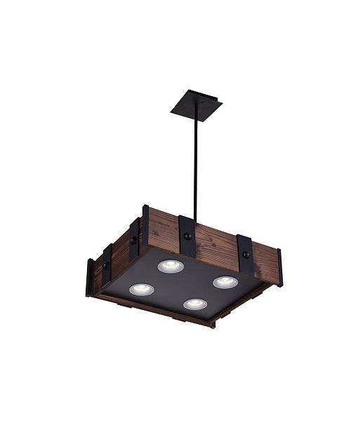 CWI Lighting CLOSEOUT! Pago 4 Light Chandelier