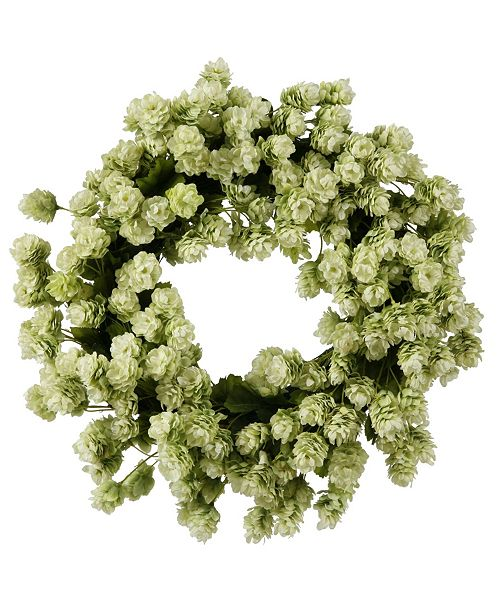 Winward Silks Winward International Hops Wreath