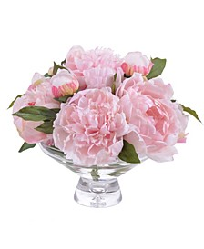 Winward International Peony in Glass