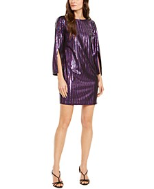 Gia Sequined Sheath Dress