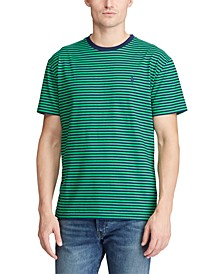 Men's Classic Fit Striped T-Shirt