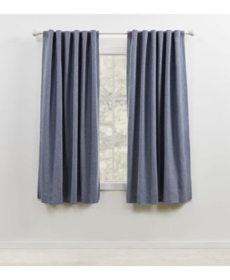 "Sallie Blackout Back Tab/Rod Pocket Curtain Panel, 54"" x 63"""