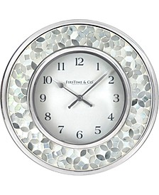 Mosaic Wall Clock
