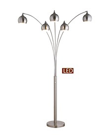 "Amore 86"" LED Arch Floor Lamp with Dimmer"