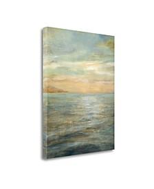 "Serene Sea II by Danhui Nai Giclee Print on Gallery Wrap Canvas, 35"" x 45"""