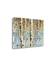 """White Forest by Lisa Audit Giclee Print on Gallery Wrap Canvas, 24"""" x 16"""""""