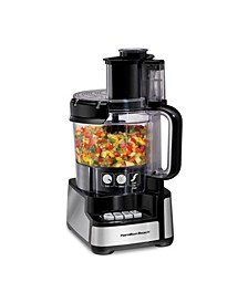 12 Cup Stack & Snap Food Processor