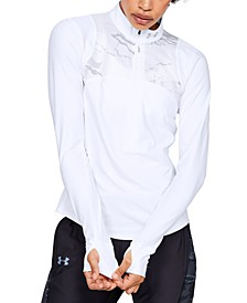 Women's Qualifier Storm Camo Half-Zip Top