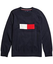 Women's V-Neck Sweatshirt with VELCRO® Closure