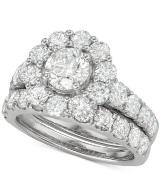 Diamond Princess Bridal Set (2 ct. t.w.) in 18k White Gold